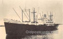 shi056272 - SS African Moon Farrell Steamship Lines Ship Postcard Post Card