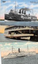 shi056274 - Steamer Greater Detroit D & C Navigation Company Ship Postcard Post Card