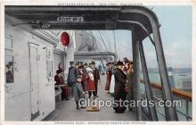 shi056282 - Promenade Deck Southern Pacific Co, New York Ship Postcard Post Card