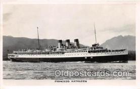 shi056283 - Princess Kathleen  Ship Postcard Post Card