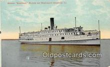 shi056285 - Steamer Southland Norfolk & Washington Steamboat Ship Postcard Post Card