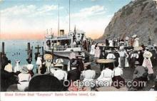 shi056297 - Glass Bottom Boat Empress Santa Catalina Island, California Ship Postcard Post Card