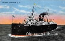shi056299 - Carferry Ann Arbor No 7  Ship Postcard Post Card