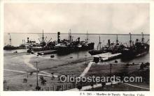 shi056300 - Muelles De Tarafa Nuevitas, Cub Ship Postcard Post Card