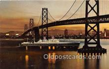 shi056302 - American President Lines SS President Cleveland Ship Postcard Post Card