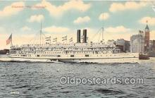 shi056306 - Steamer Providence  Ship Postcard Post Card