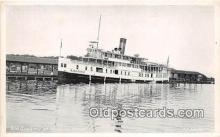 shi056329 - Str Sagamo Muskoka Wharf Ship Postcard Post Card