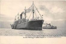 shi056332 - Steamer Minnesota Seattle, Harbor Ship Postcard Post Card