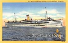 shi056335 - Steamer Avalon Santa Catalina, California Ship Postcard Post Card