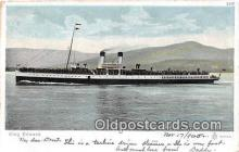 shi056336 - King Edward  Ship Postcard Post Card