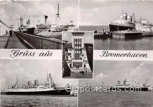 shi056361 - Gruss Aus Bremerhaven, Department of Navy Ship Postcard Post Card