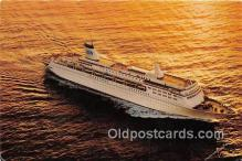 shi056363 - Princess Cruises Orient, Mexico, Europe Ship Postcard Post Card