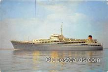 shi056365 - SS Southern Cross Shaw Savitt Line Ship Postcard Post Card