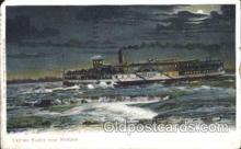 shi058001 - Lachine Rapids near Montreal Steamer, Steamers, Ship, Ships Postcard Postcards