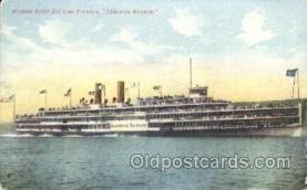 shi058002 - Hendrick Hudson Steamer, Steamers, Ship, Ships Postcard Postcards