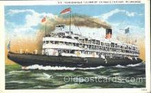 shi058008 - S.S. Christopher Columbus Steamer, Steamers, Ship, Ships Postcard Postcards