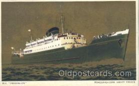shi058011 - M.V. Innisfallen Steamer, Steamers, Ship, Ships Postcard Postcards