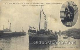 shi058017 - Boulogne- Sur-Mer Steamer, Steamers, Ship, Ships Postcard Postcards
