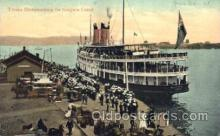 shi058031 - Troops Disembarking Steamer, Steamers, Ship, Ships Postcard Postcards