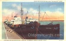 shi058032 - Corpus Christic Texas, U.S.A. Steamer, Steamers, Ship, Ships Postcard Postcards