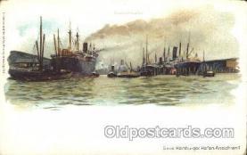 shi058033 - Baakenhafen  Steamer, Steamers, Ship, Ships Postcard Postcards