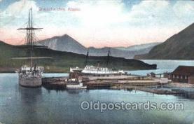 shi058036 - Unalaska Bay Alaska,U.S.A. Steamer, Steamers, Ship, Ships Postcard Postcards