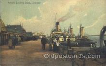 shi058046 - Prince's Landing Stage Liverpool, United Kingdom Steamer, Steamers, Ship, Ships Postcard Postcards