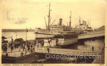 shi058048 - Prince's Landing Stage Liverpool, United Kingdom Steamer, Steamers, Ship, Ships Postcard Postcards