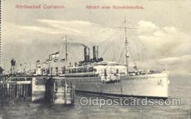 shi058049 - Nordseebad Cuxhaven Steamer, Steamers, Ship, Ships Postcard Postcards