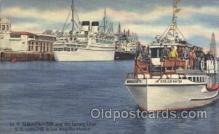 shi058055 - S.S. Lurline Los Angeles Harbor U.S.A. Steamer, Steamers, Ship, Ships Postcard Postcards