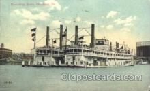 shi058069 - Excursion Boats Pittsburg PA, U.S.A Steamer, Steamers, Ship, Ships Postcard Postcards