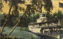 shi058070 - Georgie Oakes on St. Joe River Idaho, U.S.A Steamer, Steamers, Ship, Ships Postcard Postcards