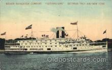 shi058071 - Citizens Line between Troy and New York, U.S.A Steamer, Steamers, Ship, Ships Postcard Postcards