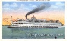 shi058084 - Capitol New Orleans LA, U.S.A Steamer, Steamers, Ship, Ships Postcard Postcards