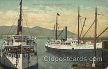 shi058085 - Gity of Seattle at Vancouver, B.C. Steamer, Steamers, Ship, Ships Postcard Postcards