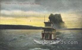 shi058086 - Flyer Coeur d'Alene Lake Idaho,U.S.A Steamer, Steamers, Ship, Ships Postcard Postcards
