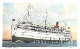 shi058087 - Juniata Steamer, Steamers, Ship, Ships Postcard Postcards