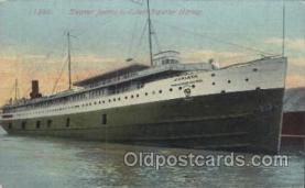 shi058094 - Juniata Steamer, Steamers, Ship, Ships Postcard Postcards