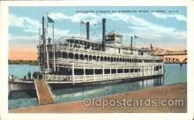 shi058096 - Clinton IA, U.S.A Steamer, Steamers, Ship, Ships Postcard Postcards
