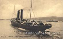 shi058097 - S.S. St.David, Fishguard Harbour Steamer, Steamers, Ship, Ships Postcard Postcards