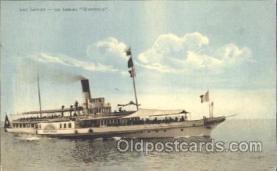 shi058098 - Montreux Steamer, Steamers, Ship, Ships Postcard Postcards