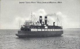 shi058101 - Sainte Marie Steamer, Steamers, Ship, Ships Postcard Postcards