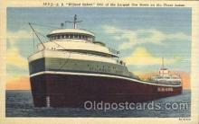 shi058104 - Wilfred Sykes Steamer, Steamers, Ship, Ships Postcard Postcards