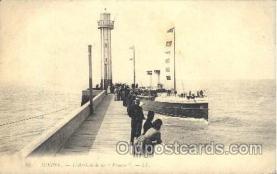 shi058107 - Dieppe - L'arrivee de la  France Steamer, Steamers, Ship, Ships Postcard Postcards