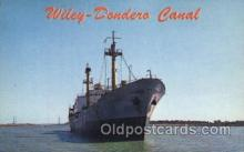 shi058112 - Wiley - Dondero Canal St. Lawrence Canal, Steamer, Steamers, Ship, Ships Postcard Postcards