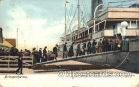 shi058116 - Bremerhaven Steamer, Steamers, Ship, Ships Postcard Postcards