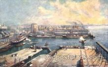 shi058122 - Montreal Harbour Steamer, Steamers, Ship, Ships Postcard Postcards