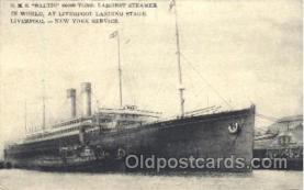 shi058125 - R.M.S. Baltic Steamer, Steamers, Ship, Ships Postcard Postcards