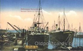 shi058131 - Antwerpen-Kattendijkdok SS. Manhattan, Kantara, Steamer, Steamers, Ship, Ships Postcard Postcards
