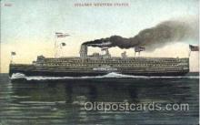 shi058150 - Western States Steamer, Steamers, Ship, Ships Postcard Postcards